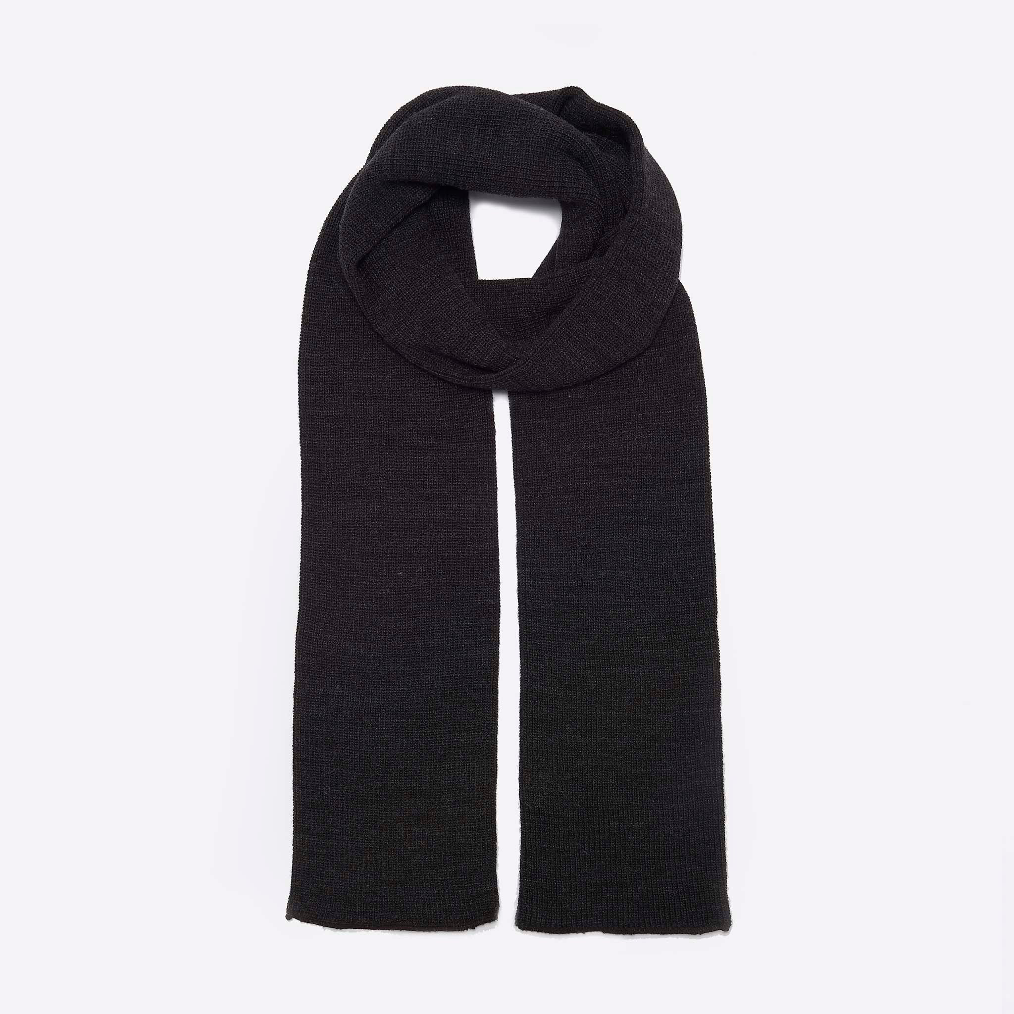 RoToTo Sock Scarf In Charcoal