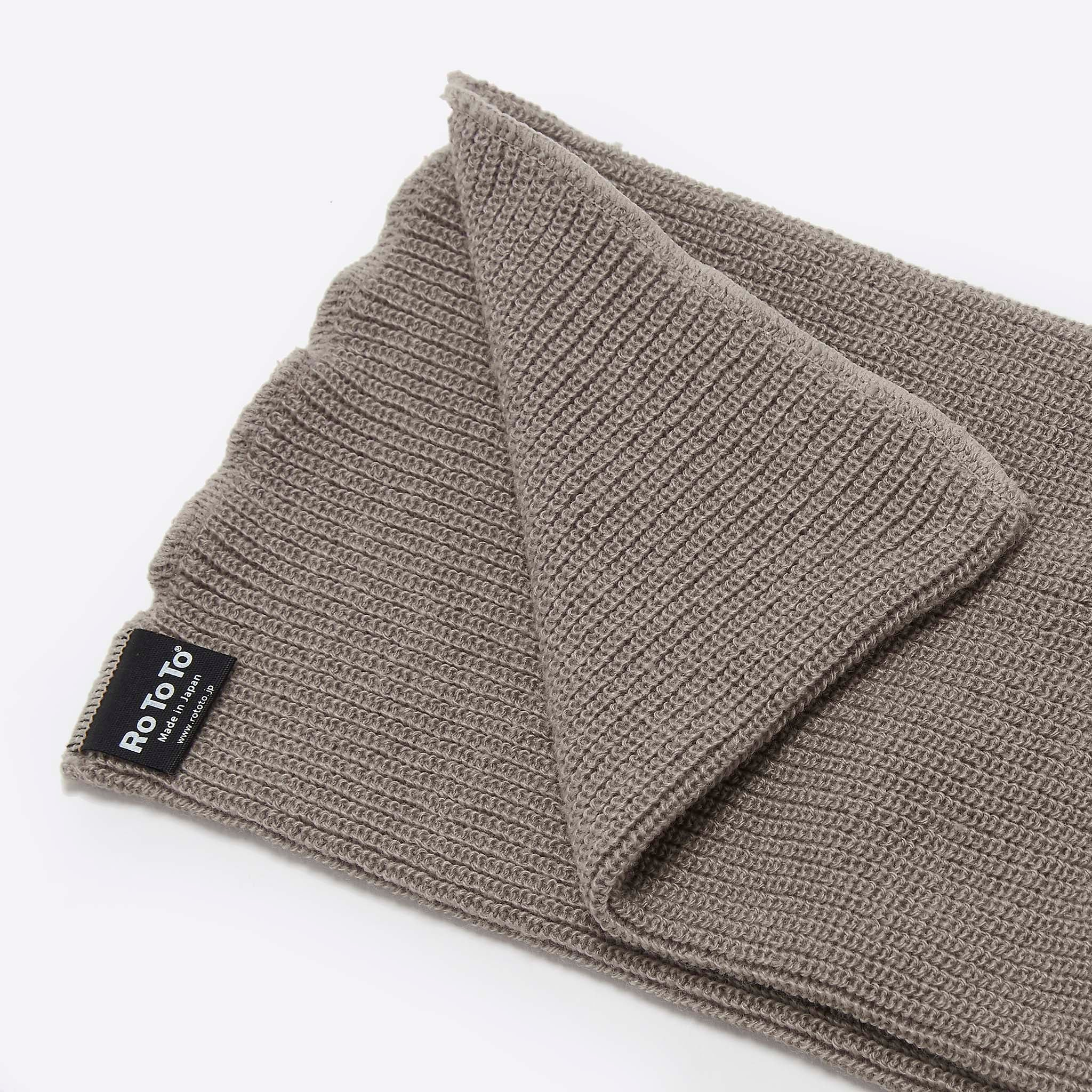 RoToTo Sock Scarf in Grayge