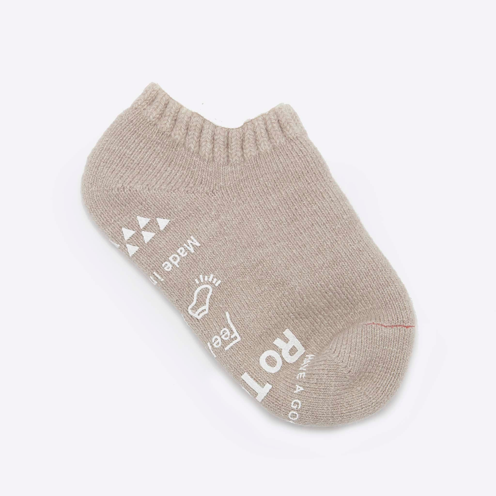 RoToTo Pile Slipper Socks Beige