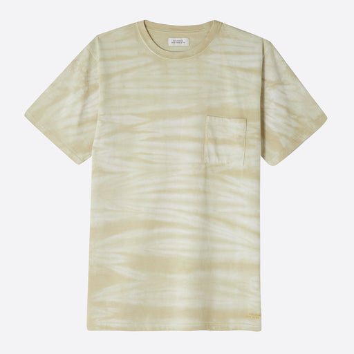 Saturdays NYC Randall Mineral Wash T-Shirt in Goldenrod