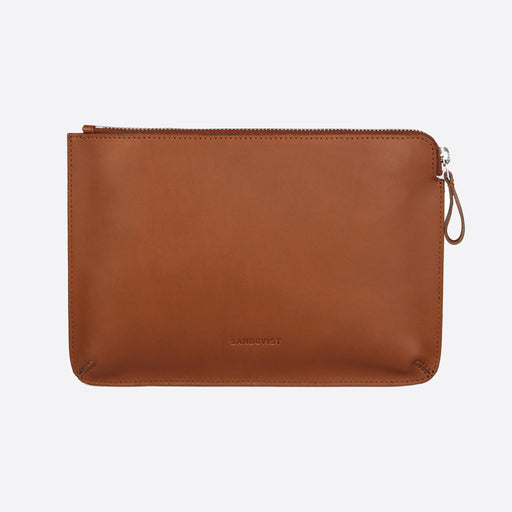 Sandqvist Luna Bag in Cognac Brown