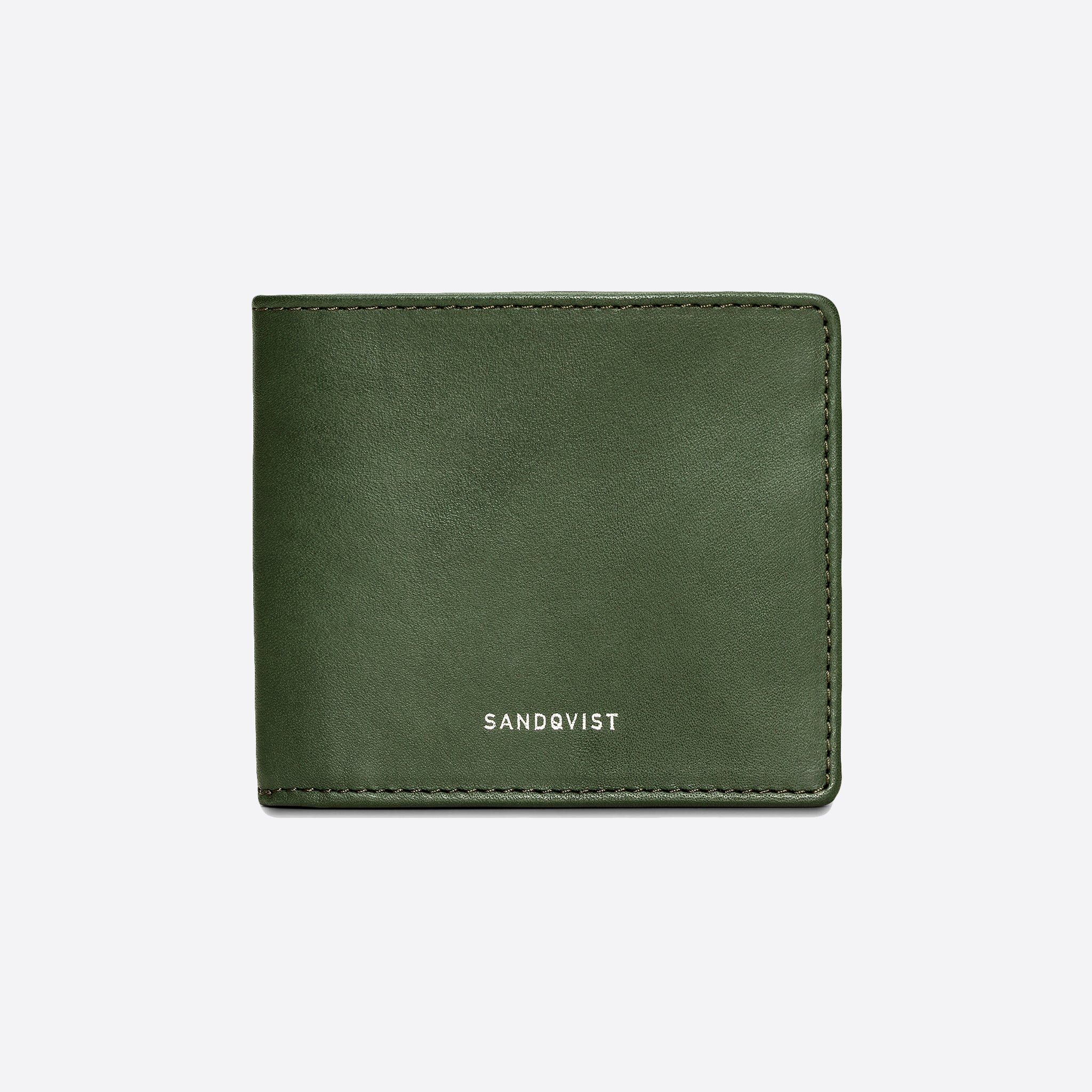 Sandqvist Manfred Wallet in Green
