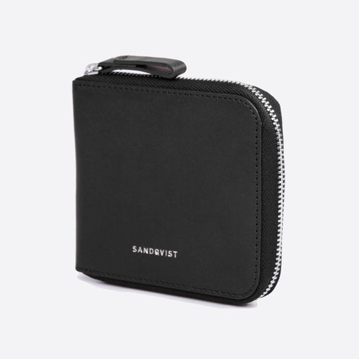 Sandqvist Tyko Wallet in Black