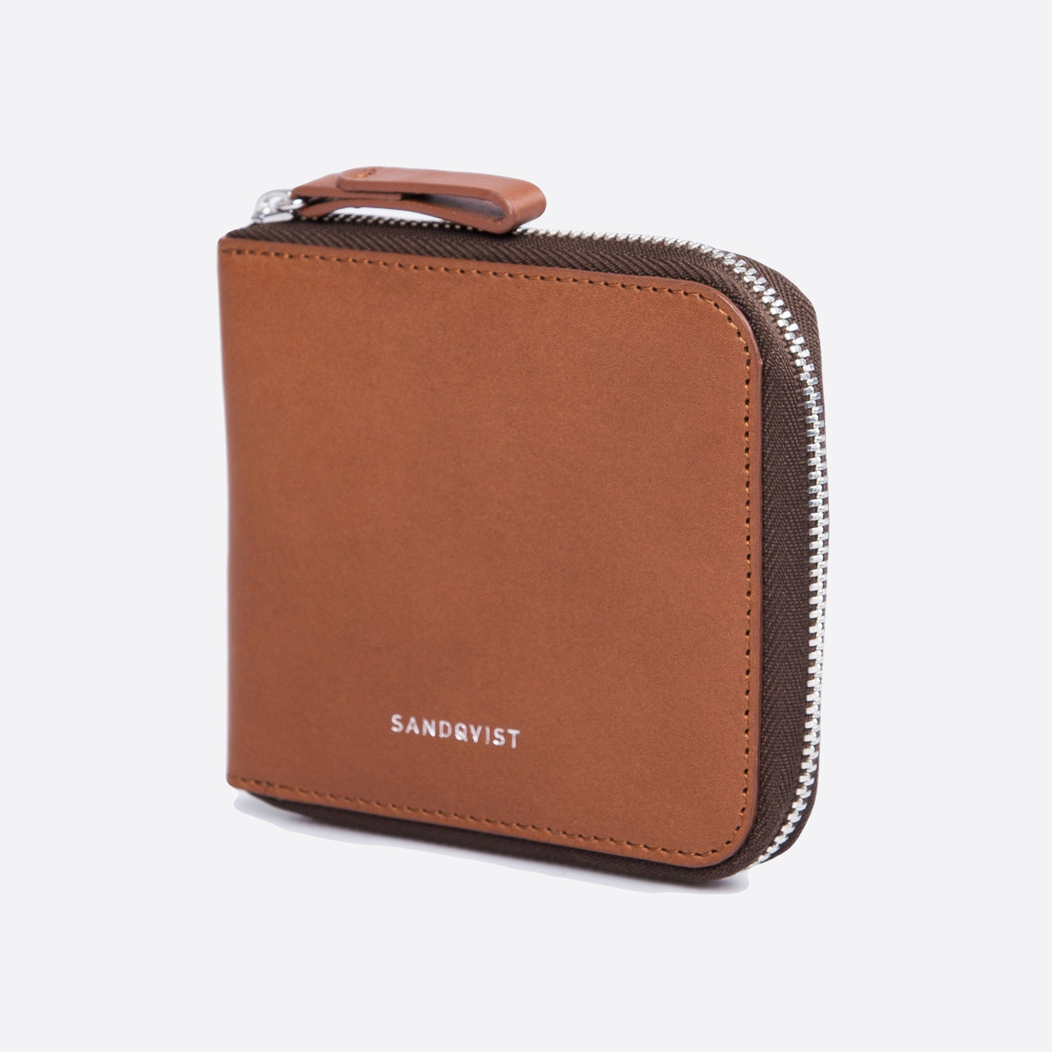 Sandqvist Tyko Wallet in Cognac Brown