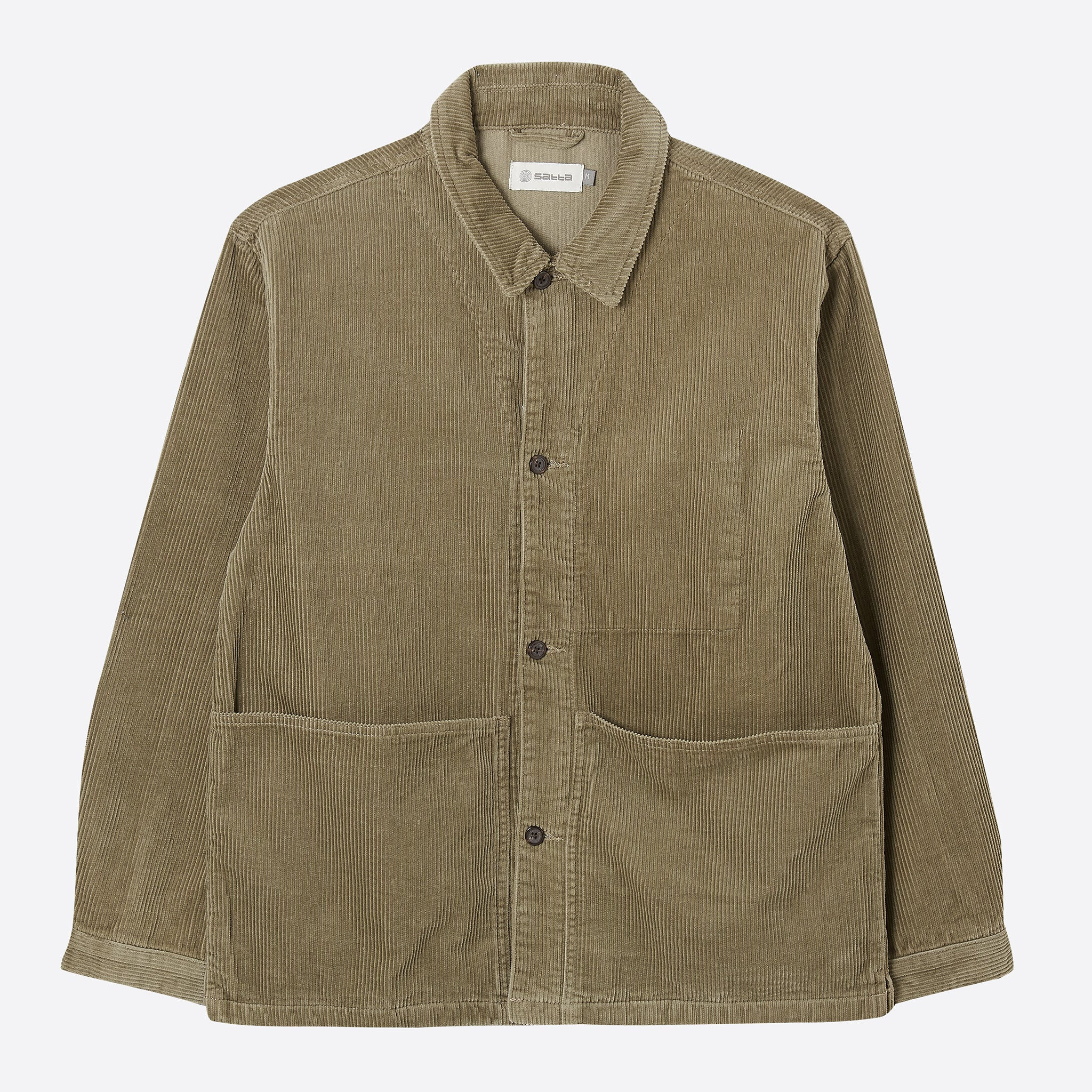 Satta Allotment Cord Jacket in Taupe