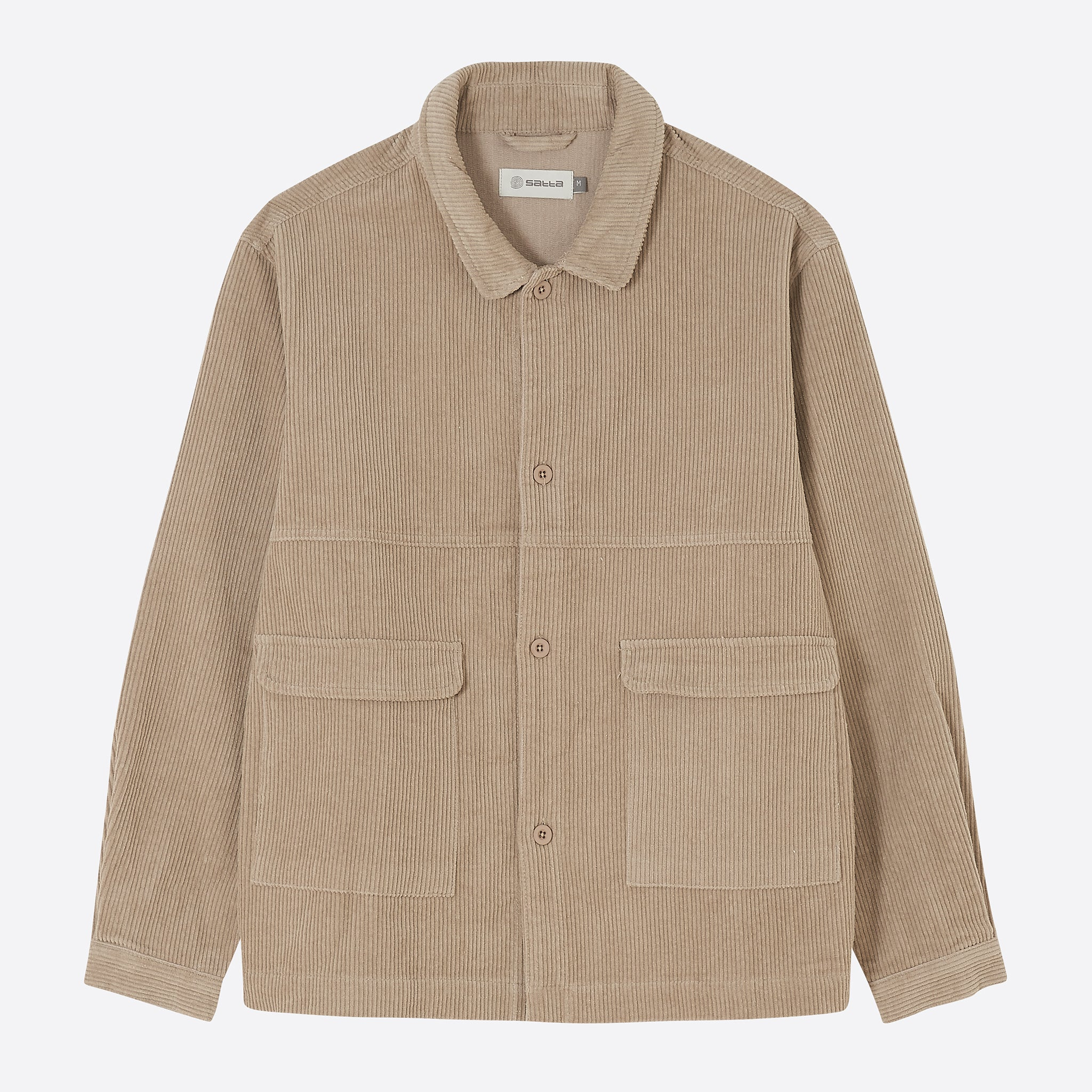 Satta Buku Jacket in Taupe