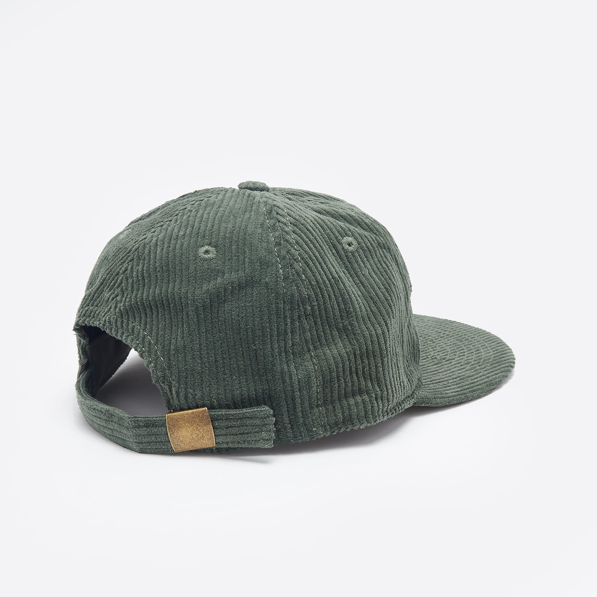 Satta Cord Cap in Emerald Green