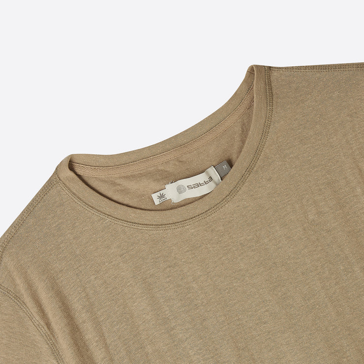 Satta Hemp OG Tee in Beige