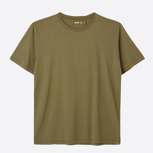 Satta Organic Cotton Tee in Bushweed