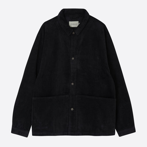 Satta Allotment Jacket in Black Cord