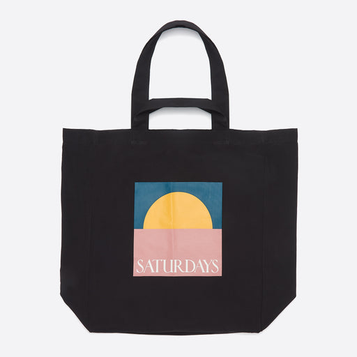 Saturdays NYC Dual Handle Tote in Sunset Print
