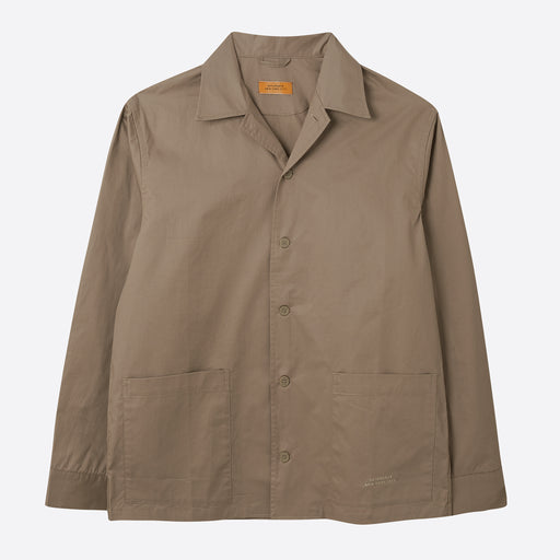 Saturdays NYC Jefferson Solid Jacket in Classic Khaki