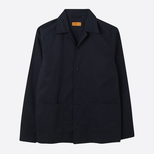 Saturdays NYC Jefferson Solid Jacket in Midnight