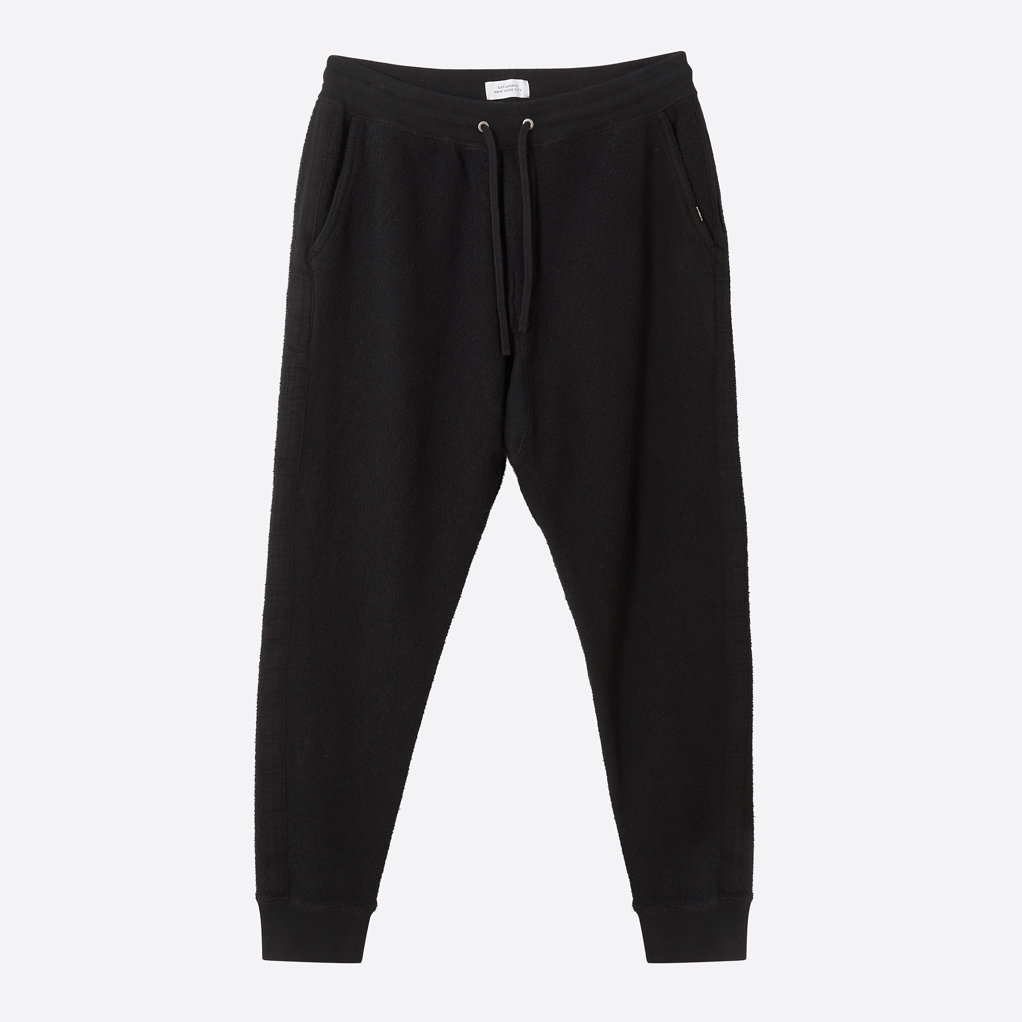 Saturdays NYC Ken Tape Sweat Pant in Black