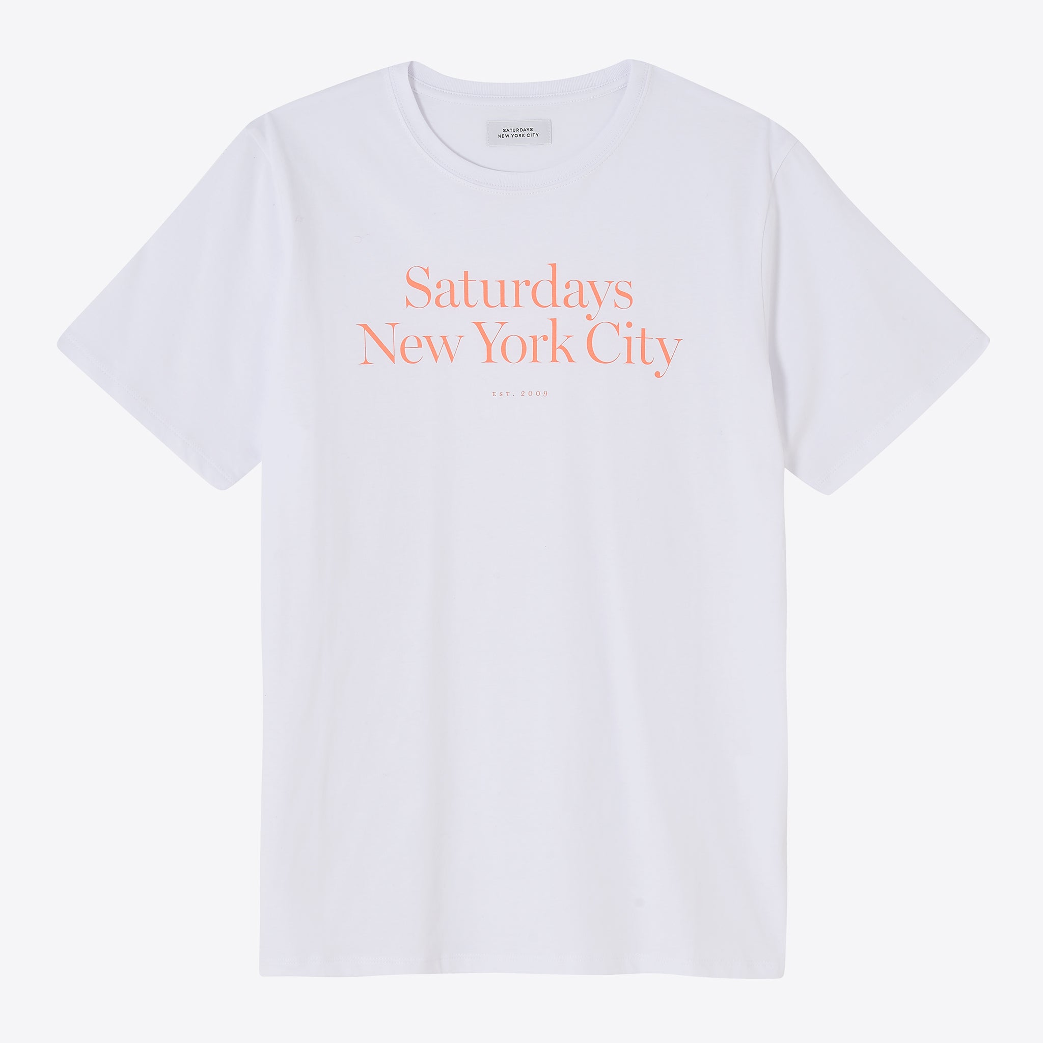 Saturdays NYC Miller Standard T-Shirt in White