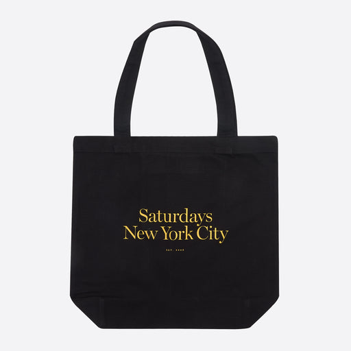 Saturdays NYC Miller Standard Tote in Black