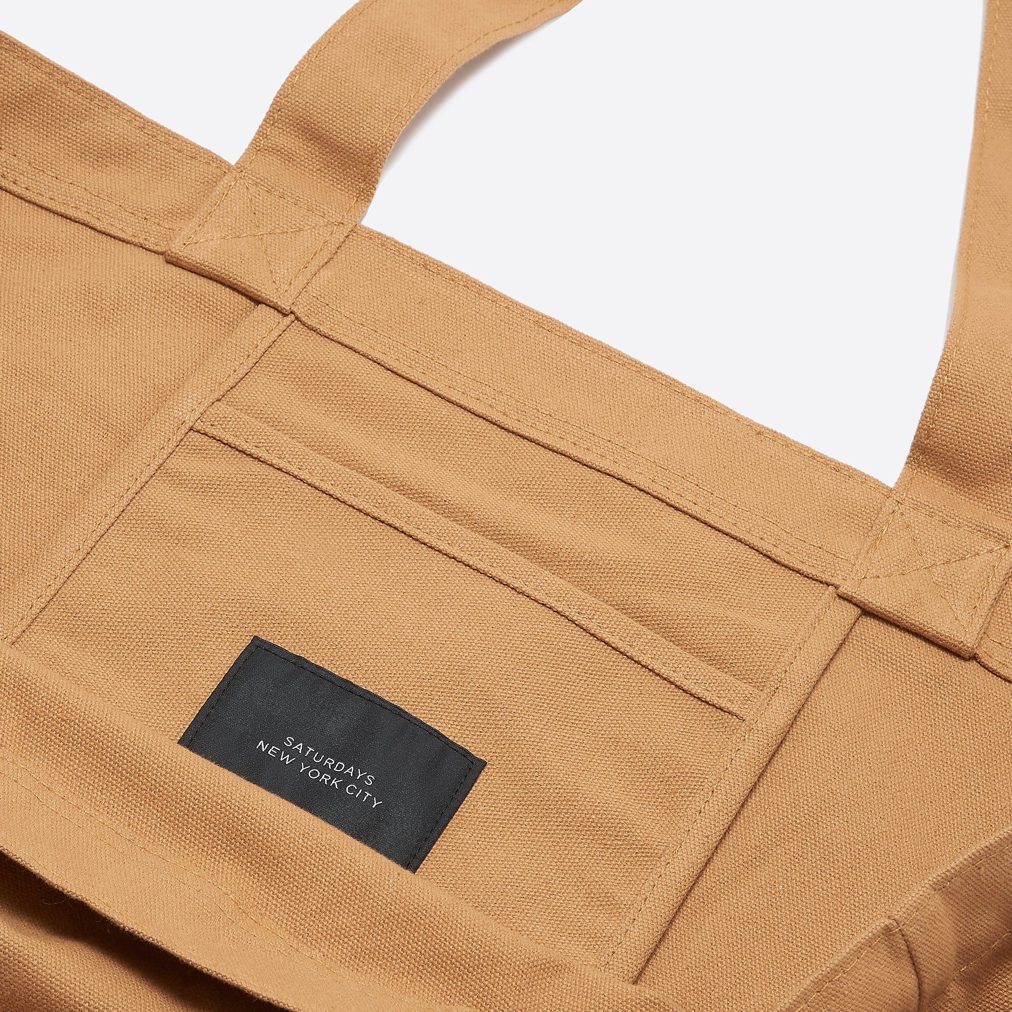Saturdays NYC Miller Tote Bag in Burnt Khaki
