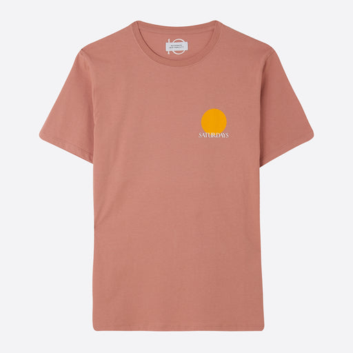 Saturdays NYC Sun Tee in Salmon