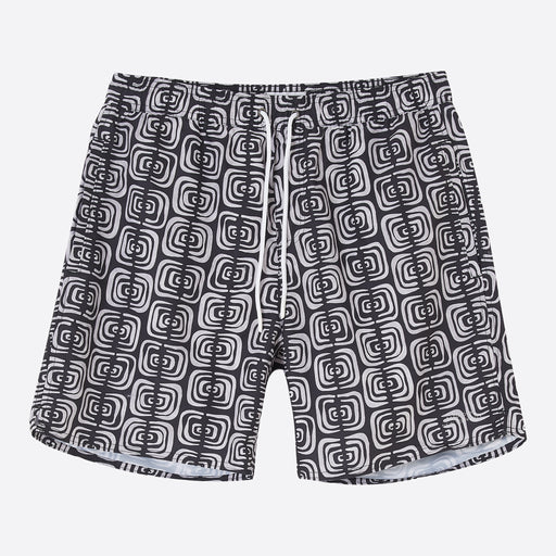 Saturdays NYC Timothy Kuba Cloth Swim Short in Black