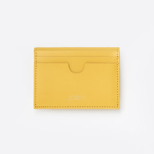 Saturdays NYC Ryan Card Holder in Goldenrod
