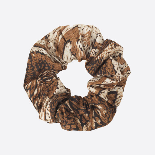 Ganni Scrunchie in Tigers Eye