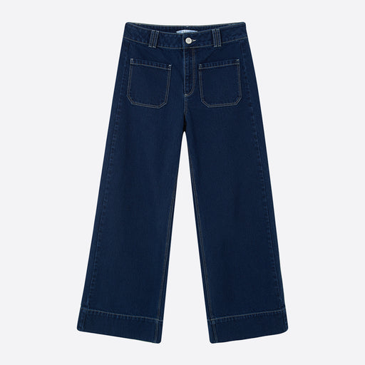 Sideline Rue Trousers in Navy