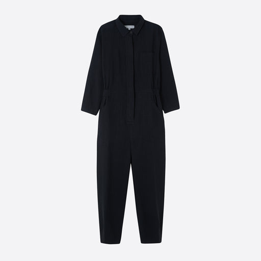 Sideline Eva Boilersuit in Black
