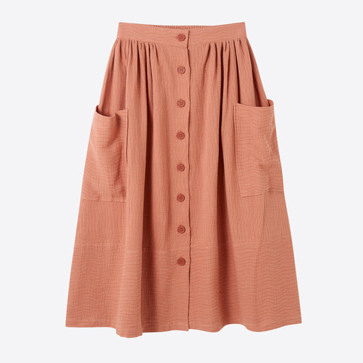 Sideline Flora Skirt in Pink