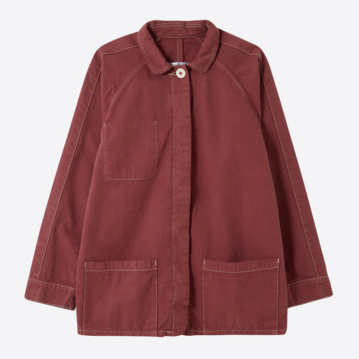 Sideline Flox Jacket in Washed Red