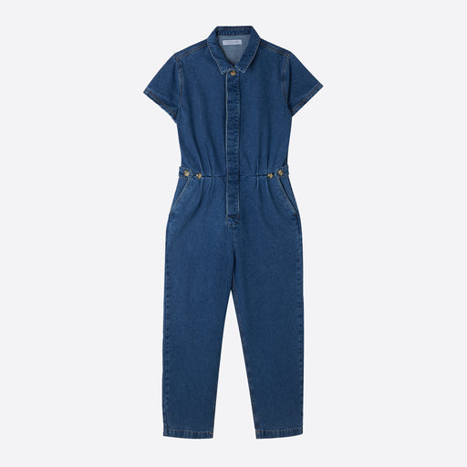 Sideline Patti Boilersuit in Recycled Denim
