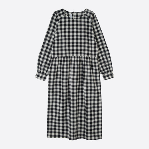 Sideline Poppy Dress in Check