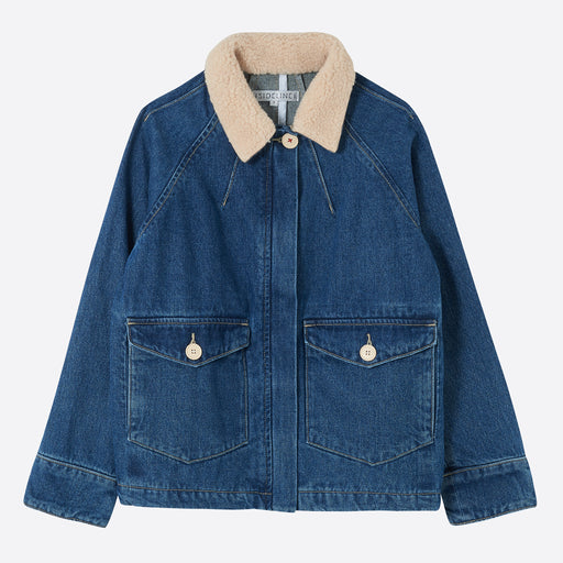 Sideline Rae Jacket in Denim