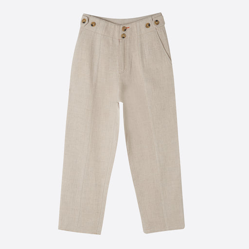 Sideline Raven Trousers in Ecru
