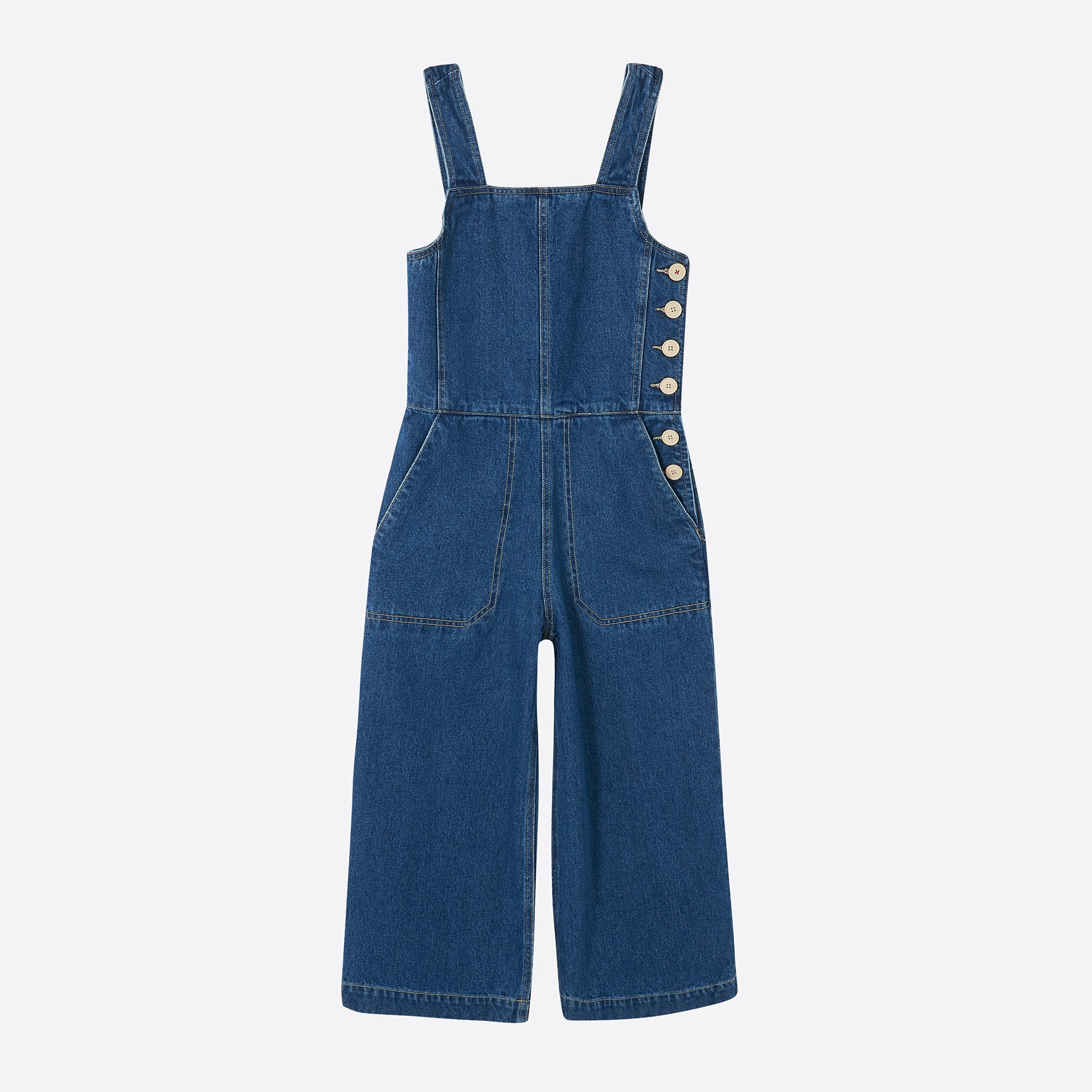 Sideline Tilde Jumpsuit in Denim