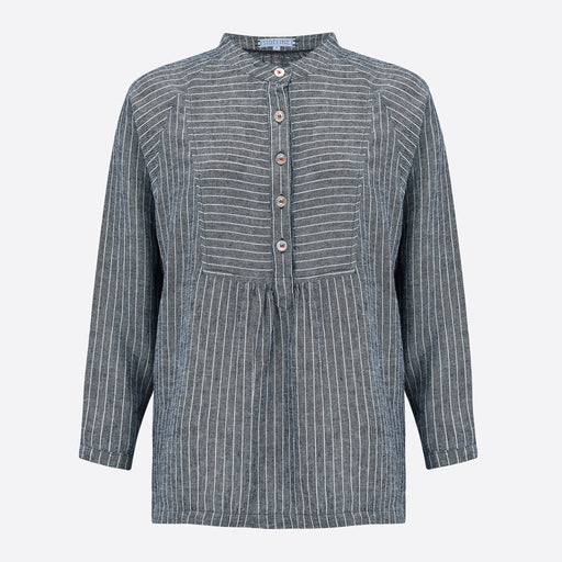 Sideline Greta Shirt in Stripe