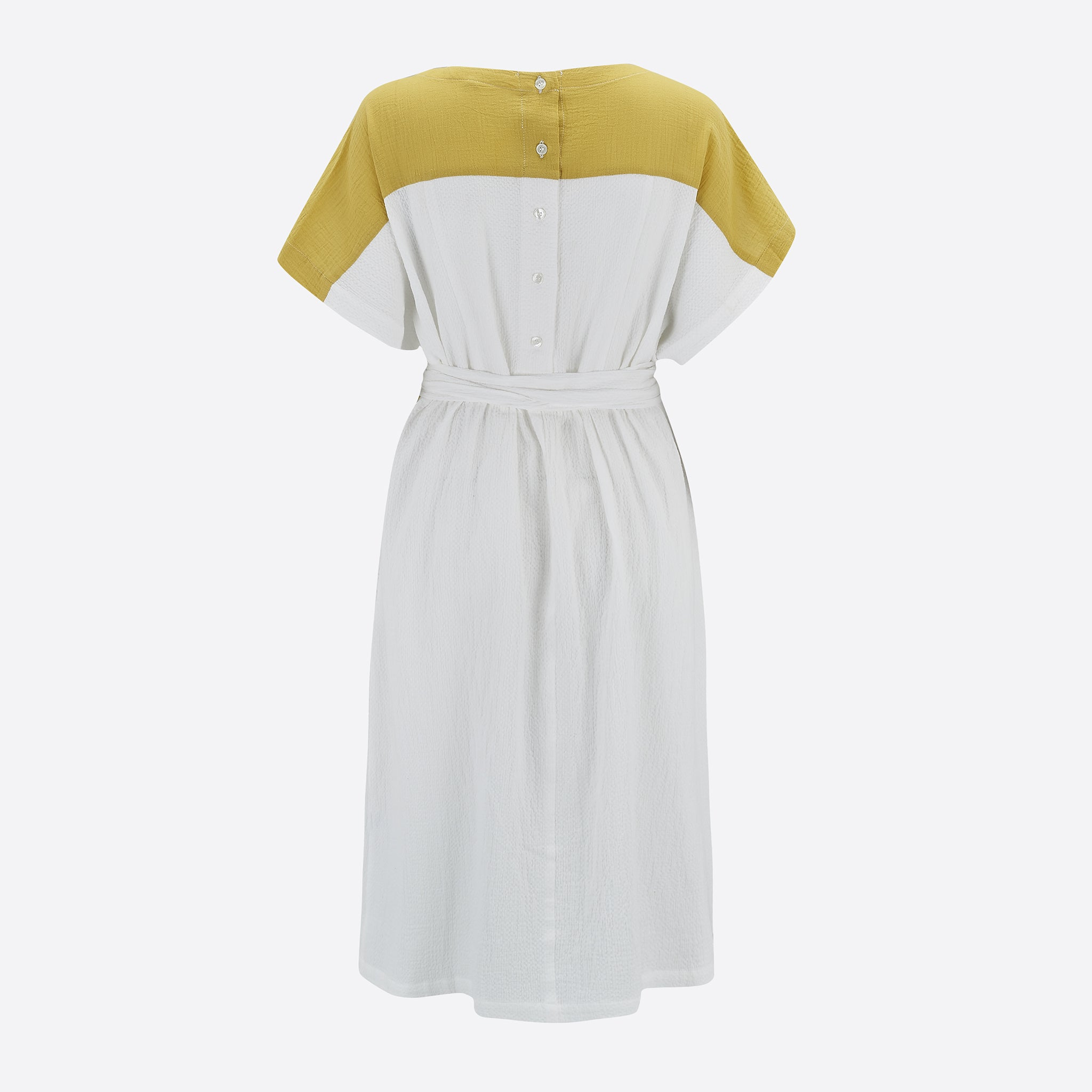 Sideline Wilma Dress in Off White