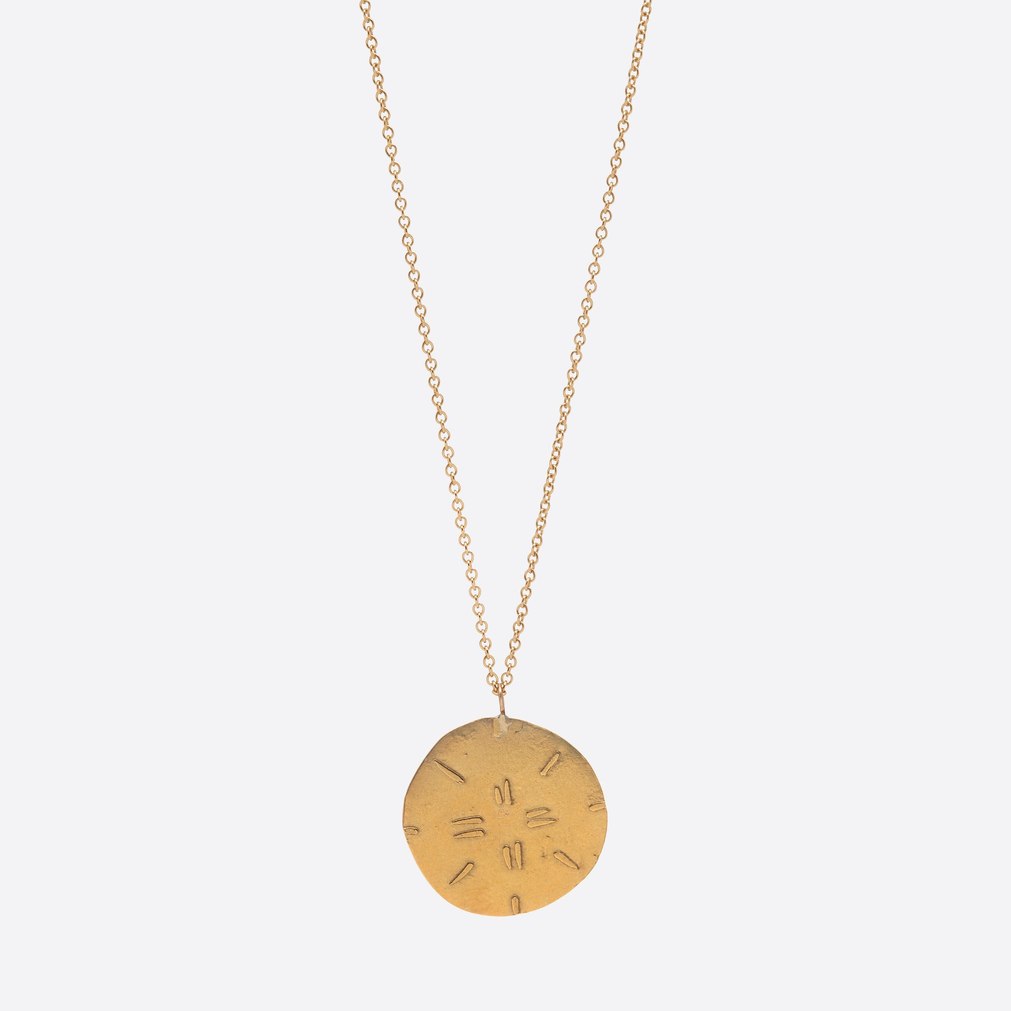 Nagle and Sisters Sol Necklace in Gold