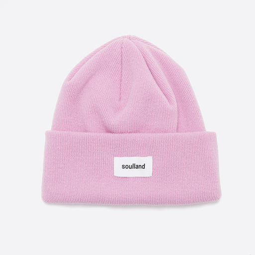 Soulland Villy Beanie in Pink