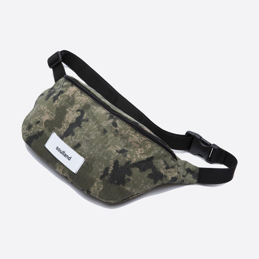 Soulland Hogan Camo Belt Bag
