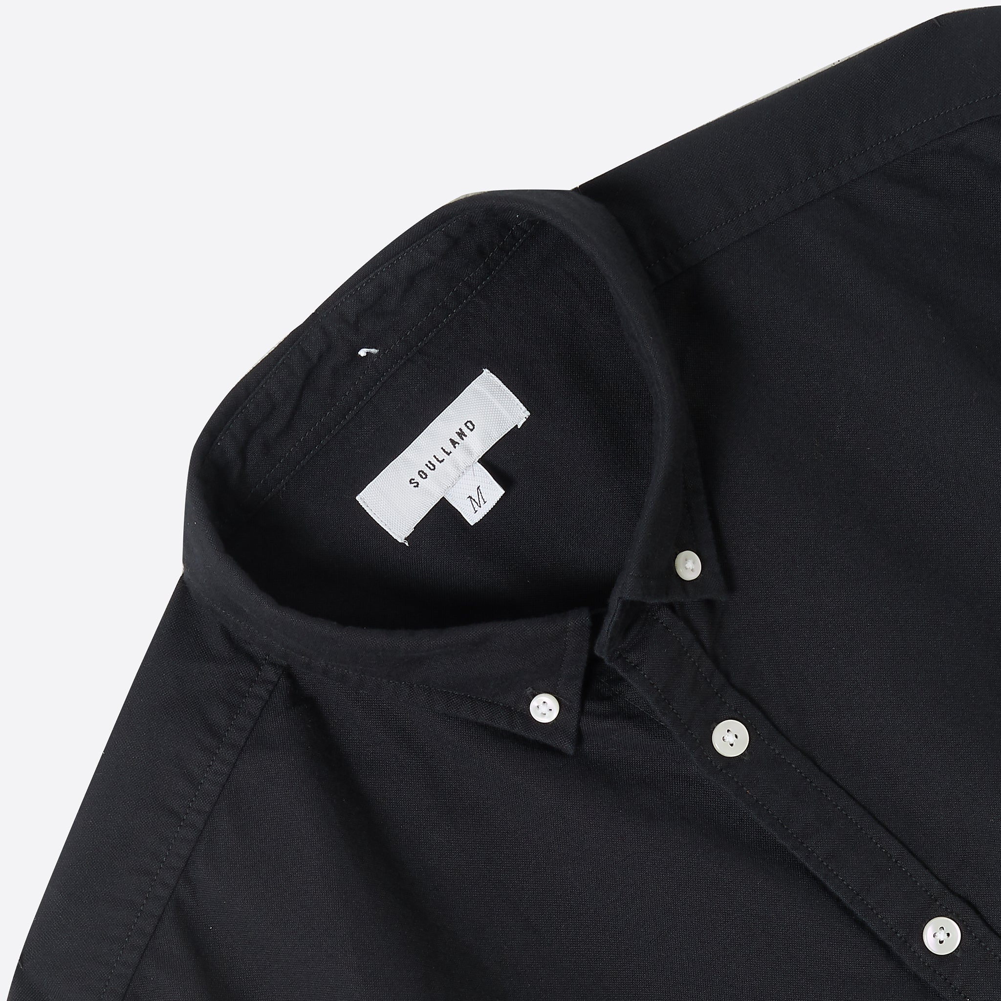Soulland Goldsmith Shirt in Black