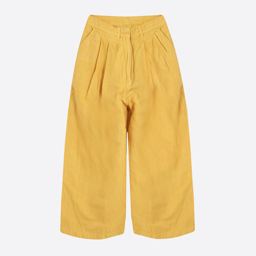 STORY mfg Cereal Trouser in Jackfruit Yellow