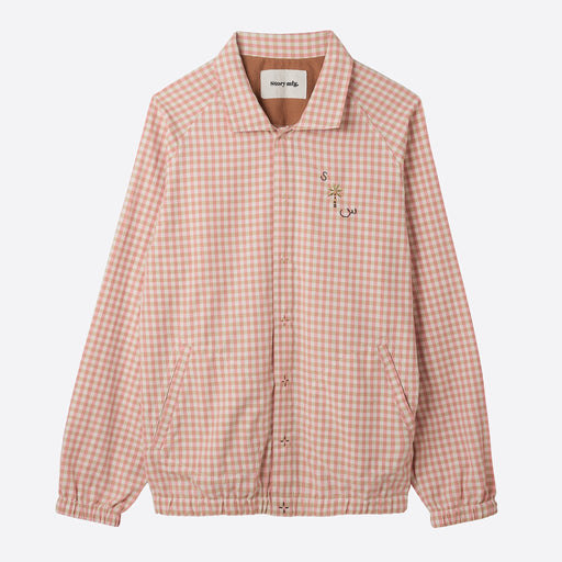 Story MFG Pub Jacket in Apple Jam Gingham