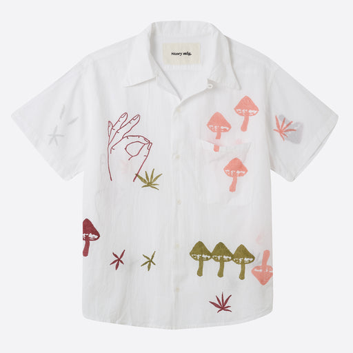 STORY mfg Shore Shirt in Strange Trip
