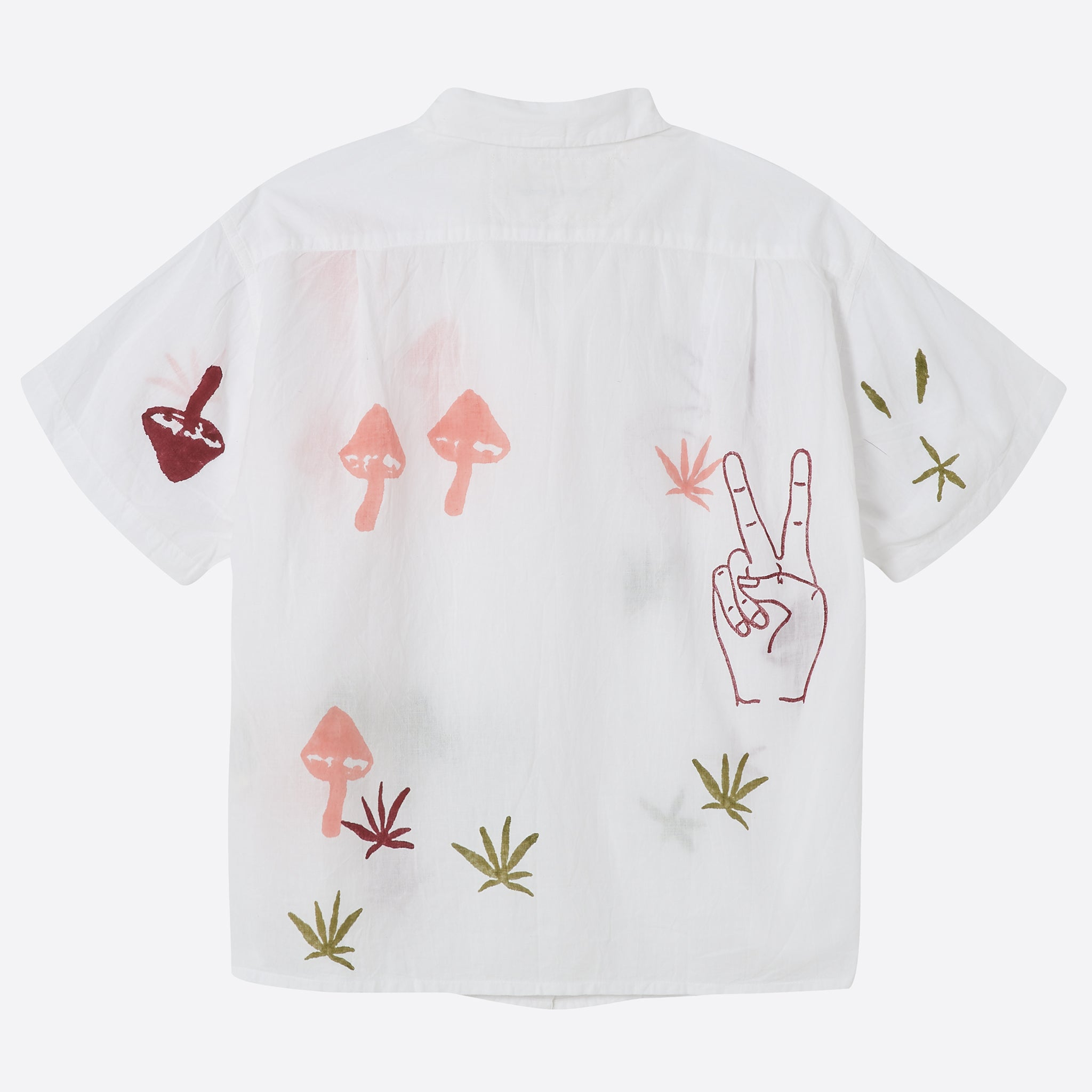 STORY mfg Shorty Shirt in Strange Trip