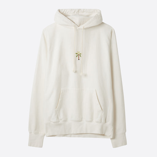 Story MFG Bloom Hooded Sweat in Sunbleached Ecru
