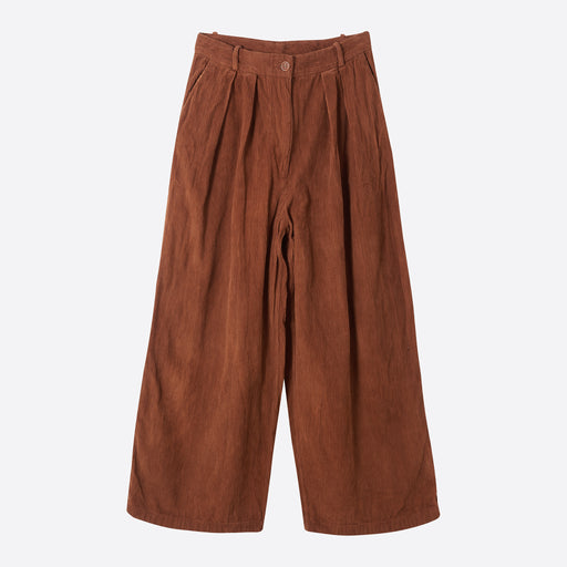 STORY Mfg Bridge Trousers in Bark Corduroy
