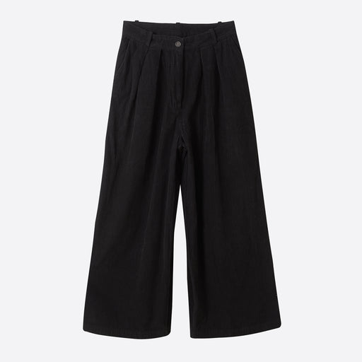 Story Mfg Bridge Trouser in Iron Black Corduroy