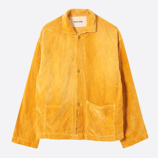 STORY Mfg Short-On-Time Jacket in Jackfruit Velvet