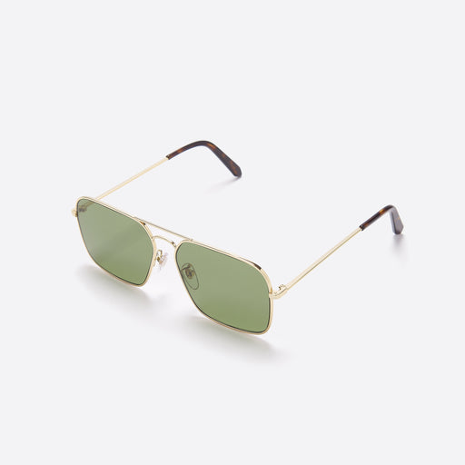 Super Iggy Sunglasses in Green & Havana