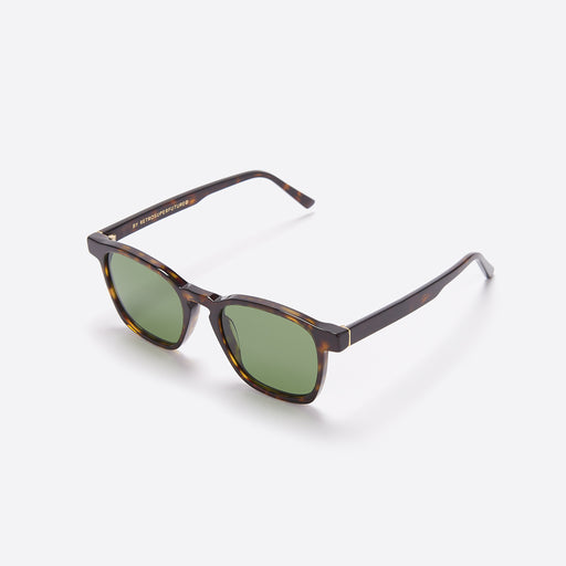 Super Unico Sunglasses in Green